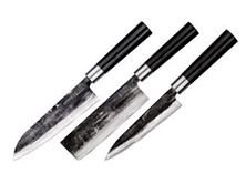 Immagine di SAMURA SUPER 5 SET 3 PZ (NAKIRI-SANTOKU-FILETTARE)