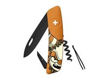 Immagine di Swiza D01 ALLBLACK HALLOWEEN CLOWN ORANGE