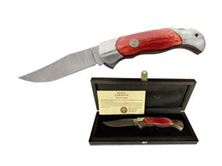 Picture of Boker FOLDING DAMASCUS RED HANDLE 2006